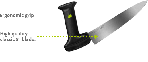 Ergonomic Carving Knife with features